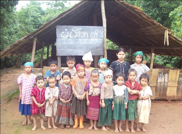 Skolebarn i Karenstaten