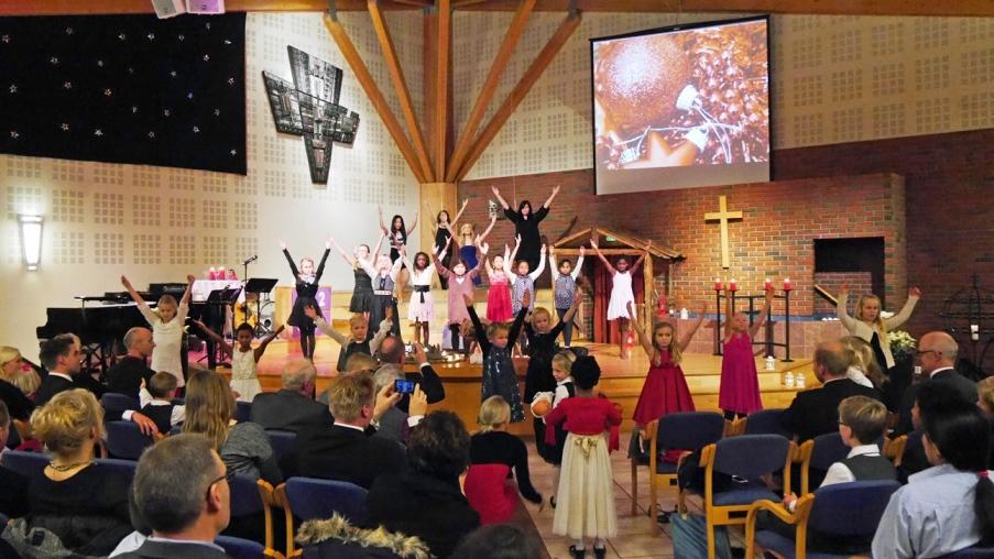 Julehilsener fra baptistfamilien.