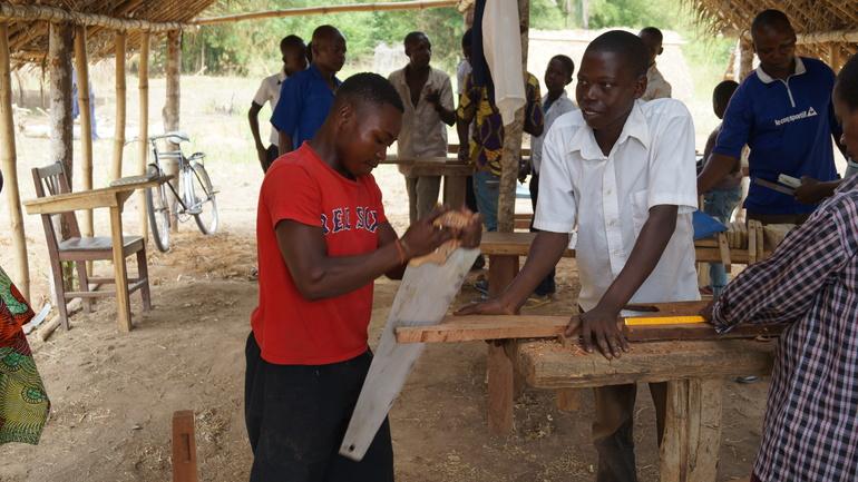 Misjonsarbeid i baptistsamfunnet.