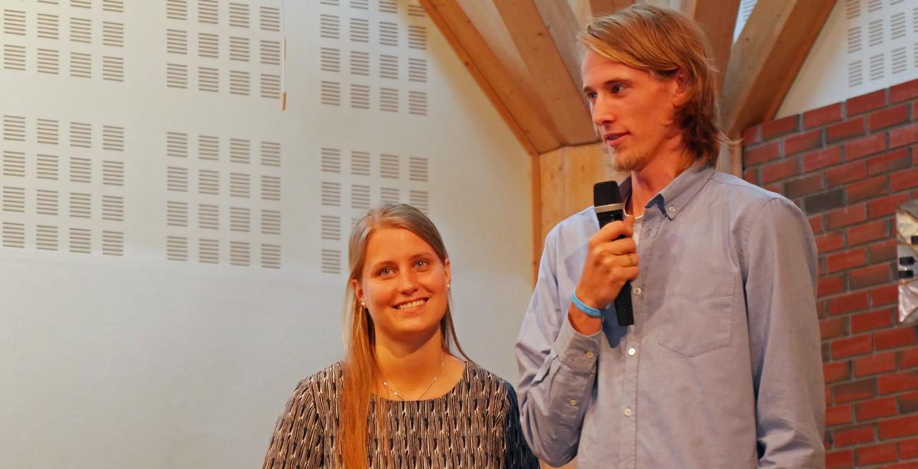 Elina og Jon Viktor blir innsatt