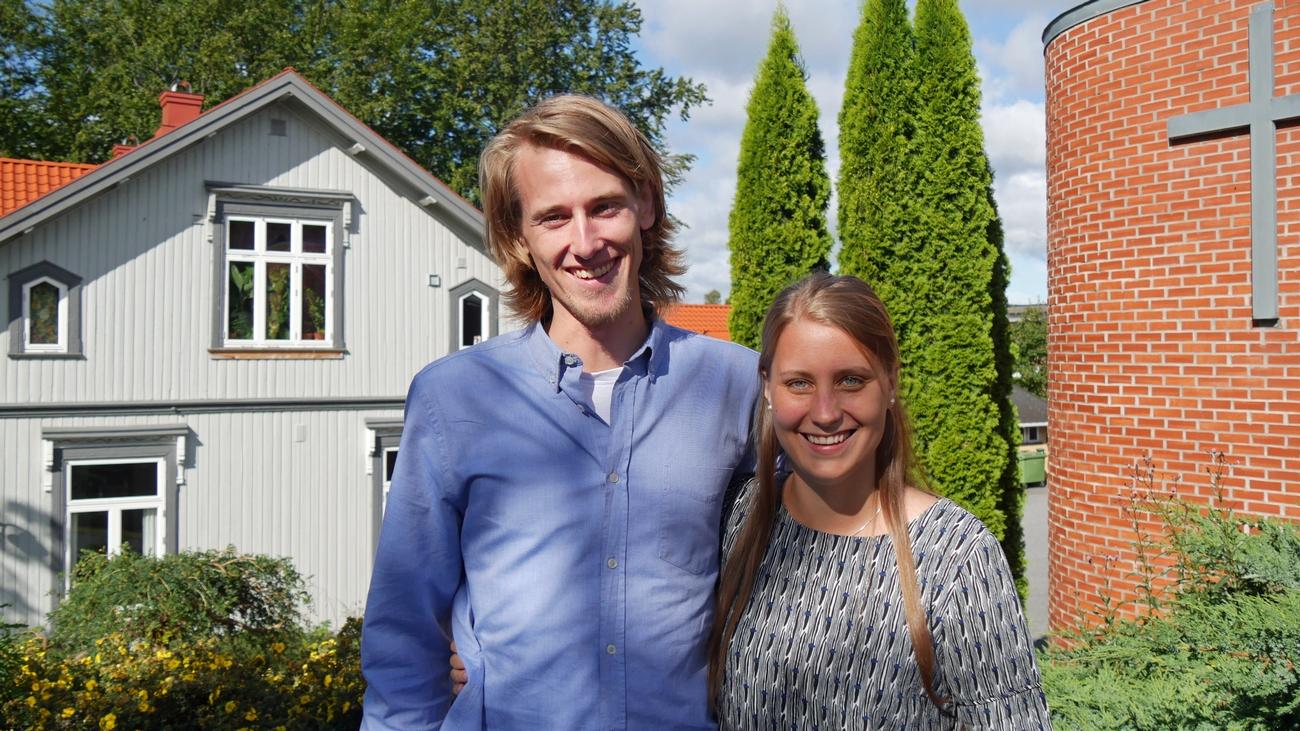 Elina og Jon Viktor er klare for tjeneste.