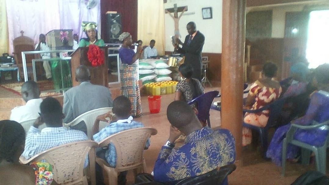 Hjelp til Victory Baptist Fellowship