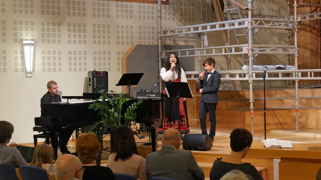 David og Tove Holst Skyer
