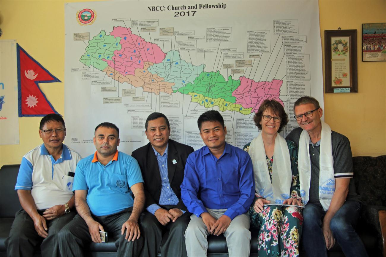 Baptistledere i Nepal