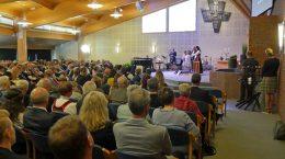 Førbønn med kirkesal