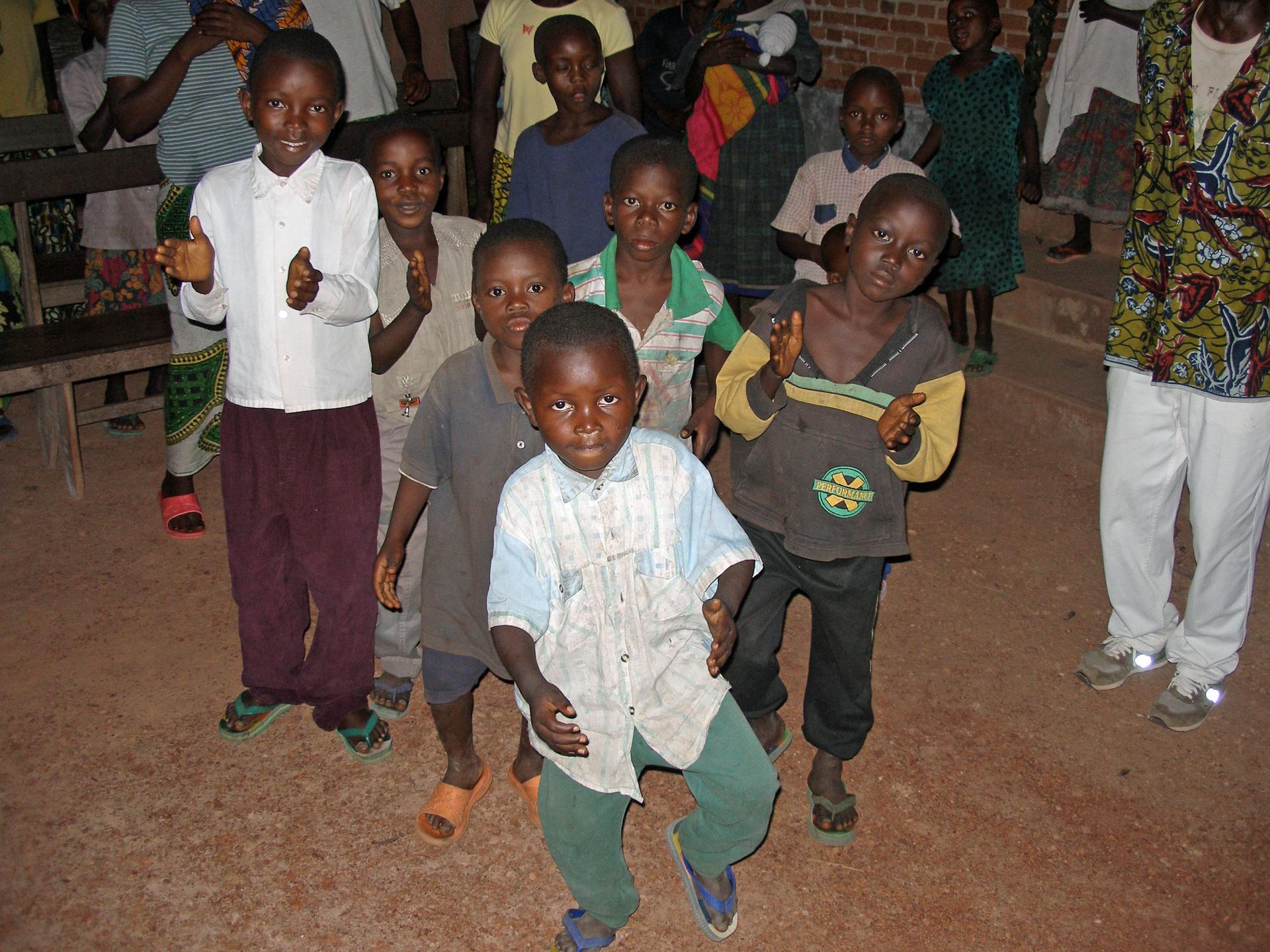 Gutt i Kongo