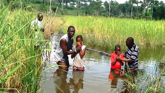 Dåp I Sierra Leone
