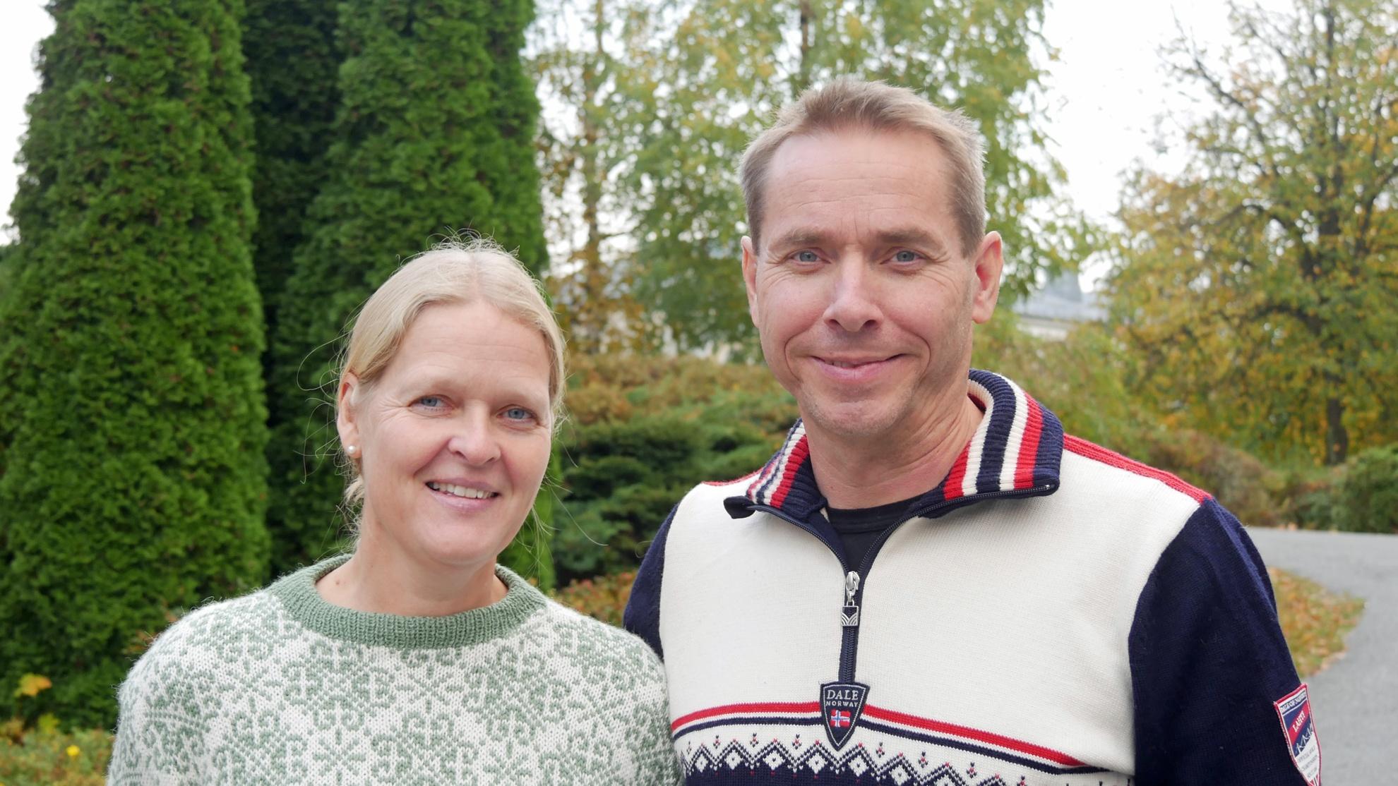Linda og Agnar Sæli