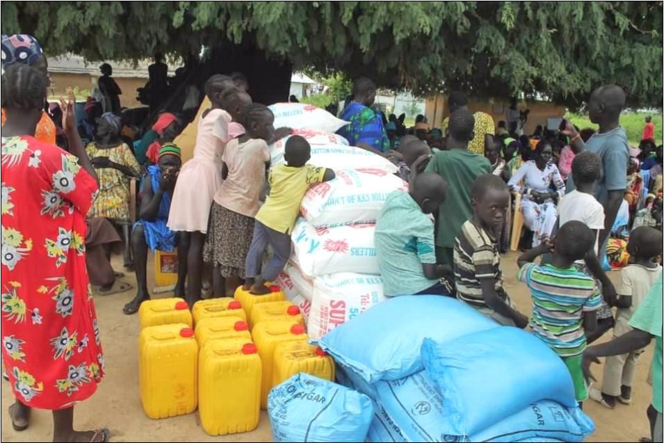 Matvarer til Sør-Sudan.