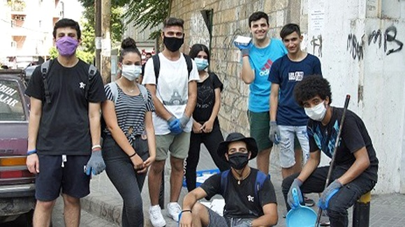 Baptister i Libanon hjelper lokalsamfunnet
