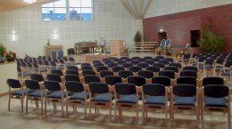 Kirkesal i Skien Baptistkirke_Gammel