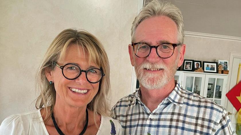 Live og Christer Lilienberg begynner i Sjømannskirken i Pattaya.