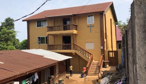 Victory Baptist Fellowship i Sierra Leone.